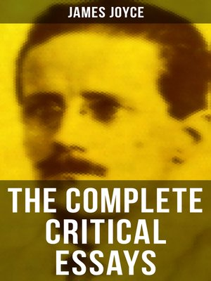 cover image of The Complete Critical Essays