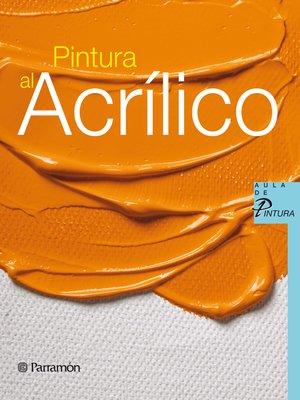cover image of Pintura al acrílico