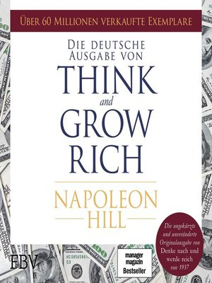 cover image of Think and Grow Rich –  Deutsche Ausgabe