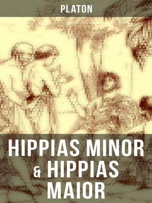 cover image of Hippias minor & Hippias maior