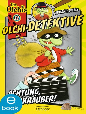 cover image of Olchi-Detektive. Achtung, Bankräuber!