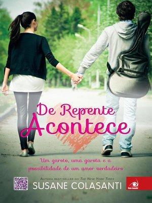 cover image of De repente acontece