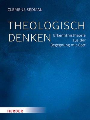 cover image of Theologisch denken