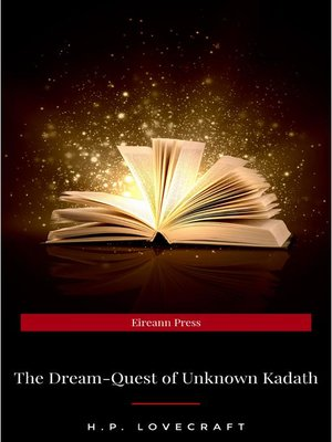 cover image of The Dream-Quest of Unknown Kadath