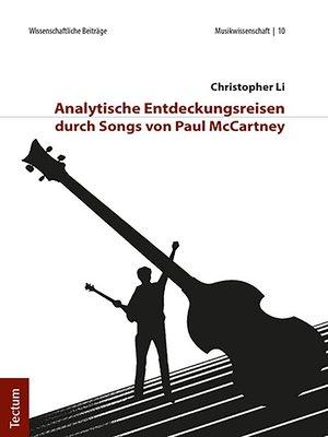 cover image of Analytische Entdeckungsreisen durch Songs von Paul McCartney