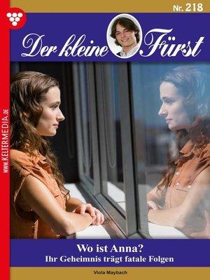 cover image of Der kleine Fürst 218 – Adelsroman