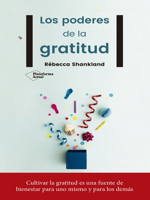 cover image of Los poderes de la gratitud