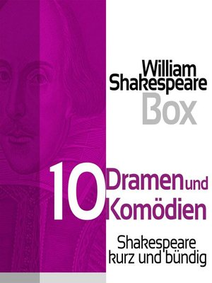 cover image of William Shakespeare Box