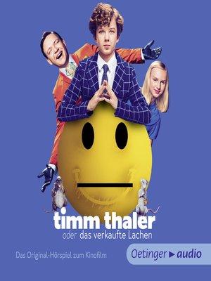 cover image of Timm Thaler. Das Originalhörspiel zum Kinofilm