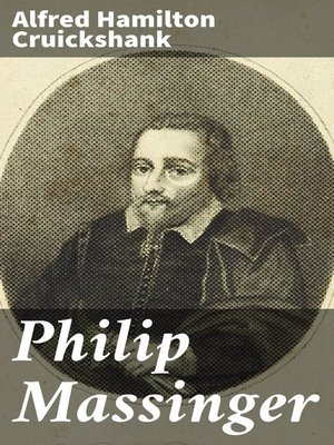cover image of Philip Massinger