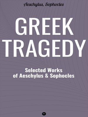 cover image of Greek Tragedy