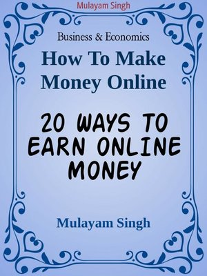 cover image of 20 WAYS TO EARN ONLINE MONEY