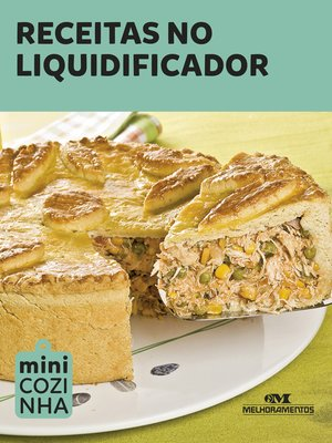 cover image of Receitas no Liquidificador