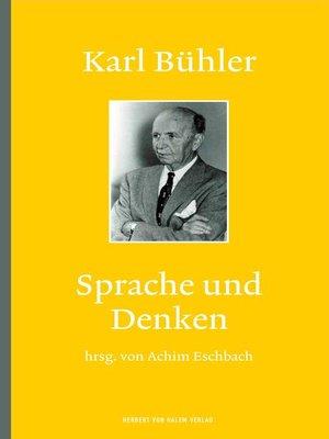 cover image of Karl Bühler