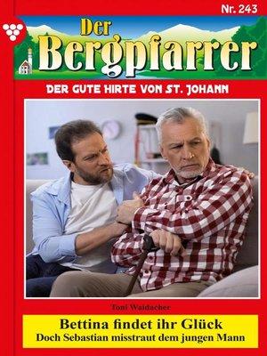 cover image of Der Bergpfarrer 243 – Heimatroman