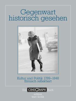 cover image of Gegenwart historisch gesehen
