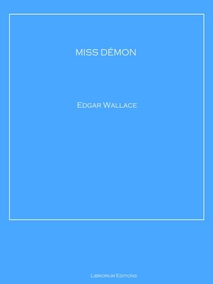cover image of MISS DÉMON