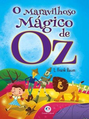 cover image of O maravilhoso mágico de Oz