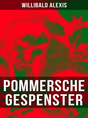 cover image of Pommersche Gespenster