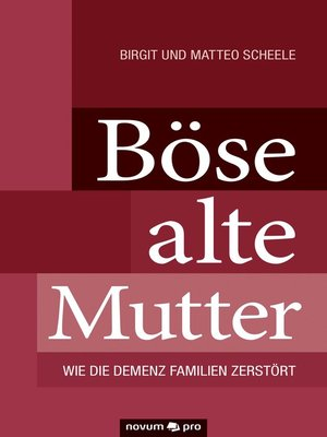 cover image of Böse alte Mutter