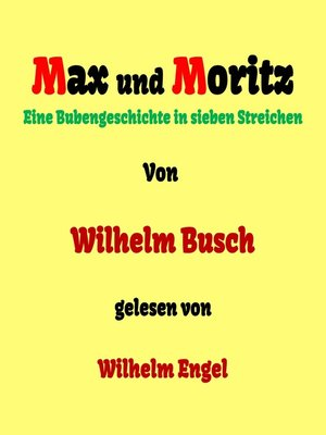 cover image of Max und Moritz