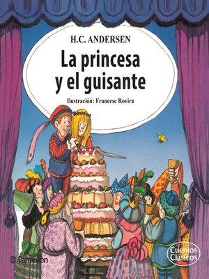 cover image of La princesa y el guisante