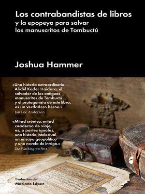 cover image of Los contrabandistas de libros