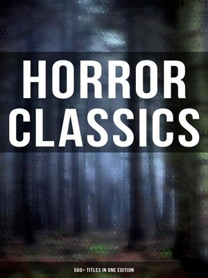 cover image of Horror Classics