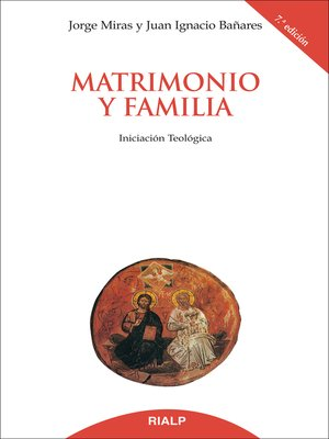 cover image of Matrimonio y familia