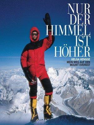 cover image of Nur der Himmel ist höher