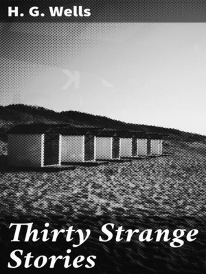 cover image of Thirty Strange Stories