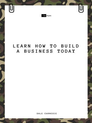cover image of Learn How to Build a Business Today