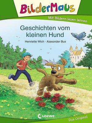 cover image of Bildermaus--Geschichten vom kleinen Hund