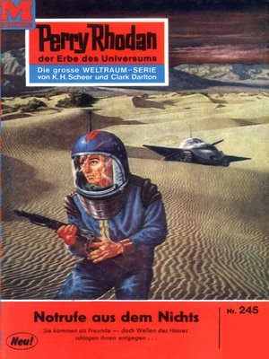 cover image of Perry Rhodan 245