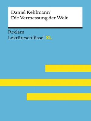cover image of Die Vermessung der Welt von Daniel Kehlmann