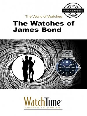 cover image of The Watches of James Bond