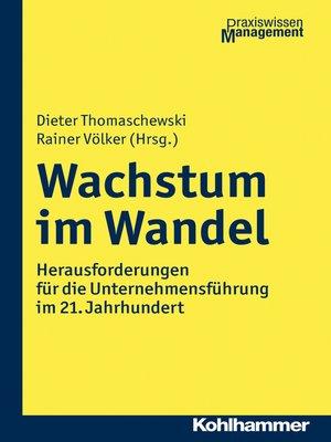 cover image of Wachstum im Wandel
