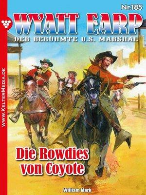 cover image of Wyatt Earp 185 – Western