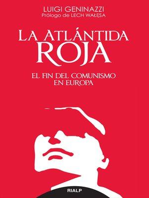 cover image of La Atlántida roja