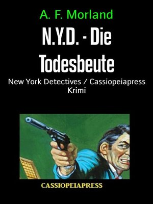 cover image of N.Y.D.--Die Todesbeute