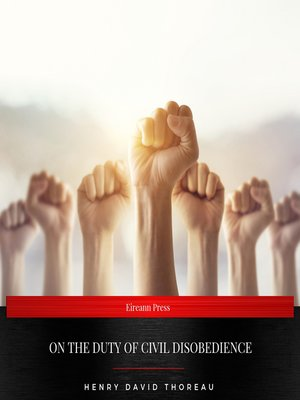 cover image of On the Duty of Civil Disobedience