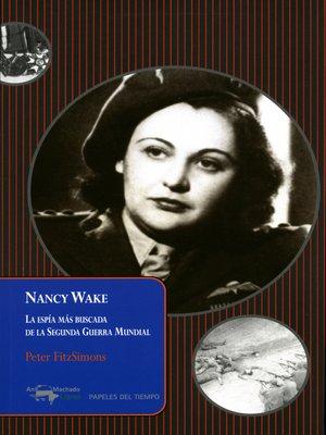 cover image of Nancy Wake