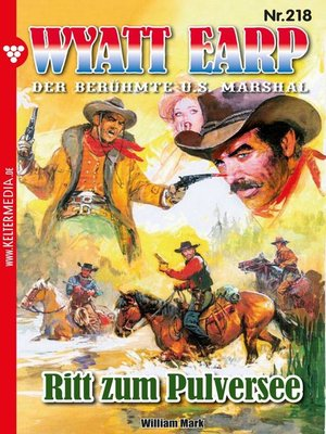 cover image of Wyatt Earp 218 – Western