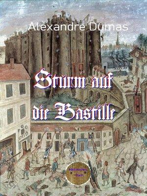 cover image of Sturm auf die Bastille