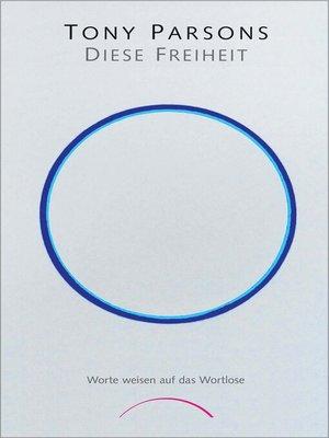 cover image of Diese Freiheit