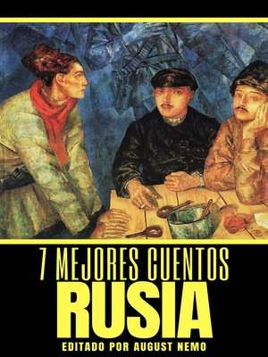cover image of 7 mejores cuentos--Rusia