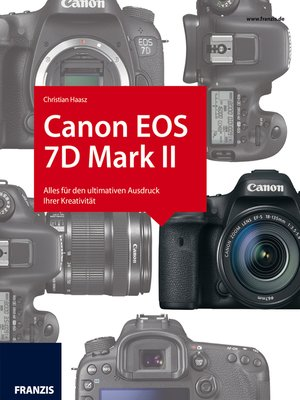 cover image of Kamerabuch Canon EOS 7D Mark II