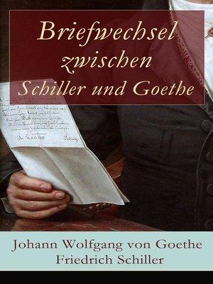 cover image of Briefwechsel zwischen Schiller und Goethe