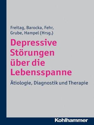 cover image of Depressive Störungen über die Lebensspanne