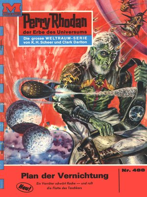 cover image of Perry Rhodan 488